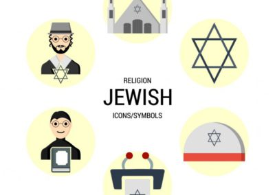 different-icons-of-the-jewish-religion_1057-3762